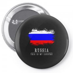 This is my country - Russia Pin-back button | Artistshot