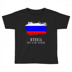 This is my country - Russia Toddler T-shirt | Artistshot