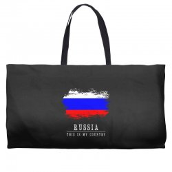 This is my country - Russia Weekender Totes | Artistshot