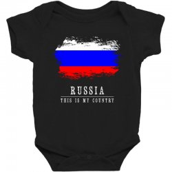 This is my country - Russia Baby Bodysuit | Artistshot