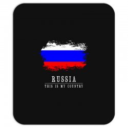 This is my country - Russia Mousepad | Artistshot