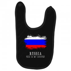 This is my country - Russia Baby Bibs | Artistshot