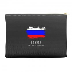This is my country - Russia Accessory Pouches | Artistshot
