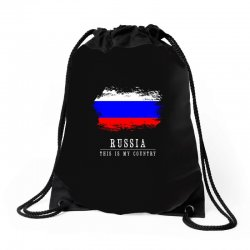 This is my country - Russia Drawstring Bags | Artistshot