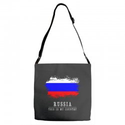This is my country - Russia Adjustable Strap Totes | Artistshot