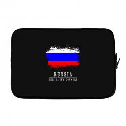This is my country - Russia Laptop sleeve | Artistshot
