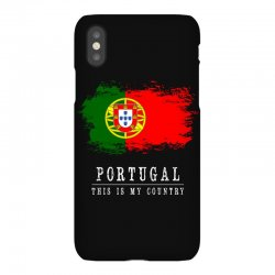 This is my country - Portugal iPhoneX Case | Artistshot