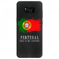 This is my country - Portugal Samsung Galaxy S8 Case | Artistshot