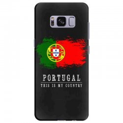 This is my country - Portugal Samsung Galaxy S8 Plus Case | Artistshot