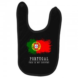 This is my country - Portugal Baby Bibs | Artistshot