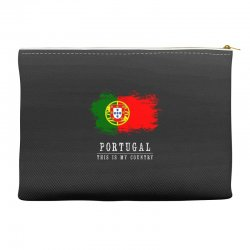 This is my country - Portugal Accessory Pouches | Artistshot