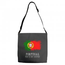 This is my country - Portugal Adjustable Strap Totes | Artistshot