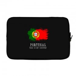 This is my country - Portugal Laptop sleeve | Artistshot