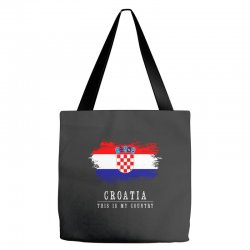 This is my country - Croatia Tote Bags | Artistshot