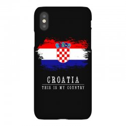 This is my country - Croatia iPhoneX | Artistshot