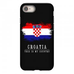 This is my country - Croatia iPhone 8 | Artistshot