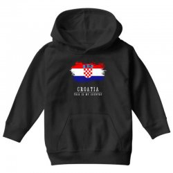This is my country - Croatia Youth Hoodie | Artistshot