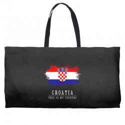 This is my country - Croatia Weekender Totes | Artistshot