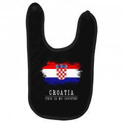 This is my country - Croatia Baby Bibs | Artistshot