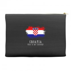 This is my country - Croatia Accessory Pouches | Artistshot