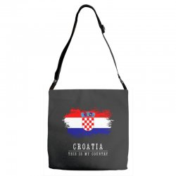 This is my country - Croatia Adjustable Strap Totes | Artistshot