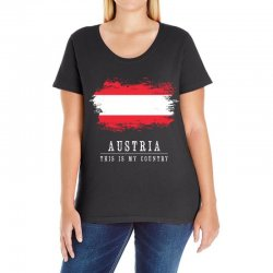 This is my country - Austria Ladies Curvy T-Shirt | Artistshot