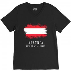 This is my country - Austria V-Neck Tee | Artistshot