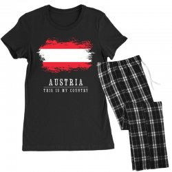 This is my country - Austria Women's Pajamas Set | Artistshot