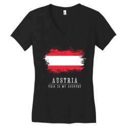 This is my country - Austria Women's V-Neck T-Shirt | Artistshot