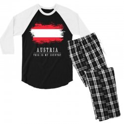 This is my country - Austria Men's 3/4 Sleeve Pajama Set | Artistshot