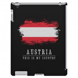 This is my country - Austria iPad 3 and 4 Case | Artistshot