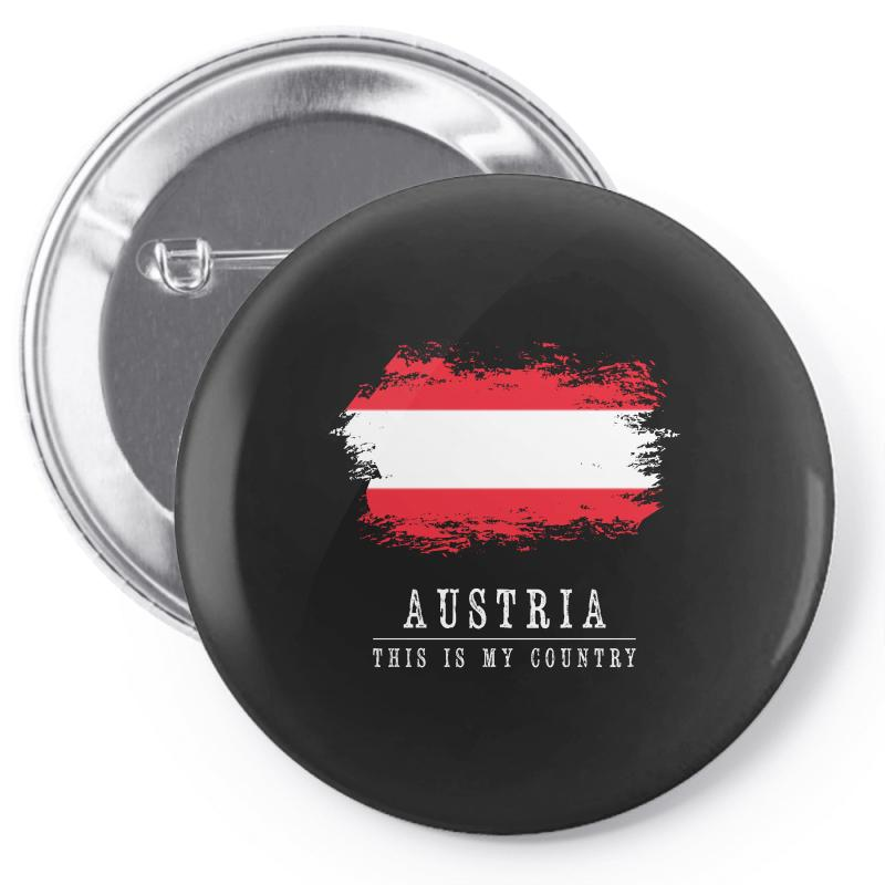 This Is My Country - Austria Pin-back Button | Artistshot