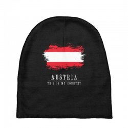 This is my country - Austria Baby Beanies | Artistshot
