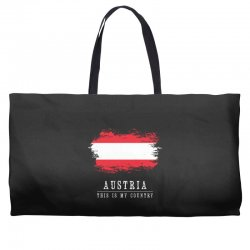 This is my country - Austria Weekender Totes | Artistshot