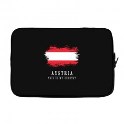 This is my country - Austria Laptop sleeve | Artistshot