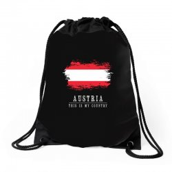 This is my country - Austria Drawstring Bags | Artistshot