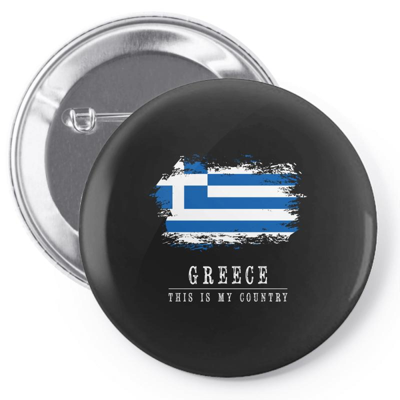 This Is My Country - Greece Pin-back Button | Artistshot
