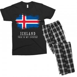 This is my country - Iceland Men's T-shirt Pajama Set | Artistshot