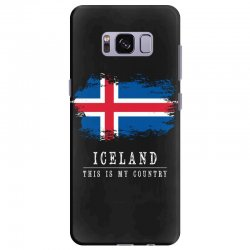 This is my country - Iceland Samsung Galaxy S8 Plus Case | Artistshot