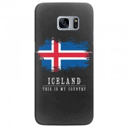 This is my country - Iceland Samsung Galaxy S7 Edge Case | Artistshot