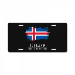 This is my country - Iceland License Plate | Artistshot