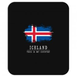 This is my country - Iceland Mousepad | Artistshot