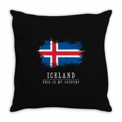 This is my country - Iceland Throw Pillow | Artistshot