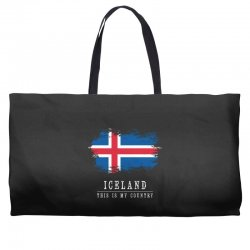 This is my country - Iceland Weekender Totes | Artistshot