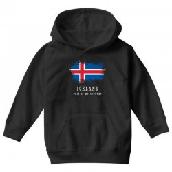 This is my country - Iceland Youth Hoodie | Artistshot