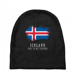 This is my country - Iceland Baby Beanies | Artistshot