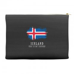 This is my country - Iceland Accessory Pouches | Artistshot