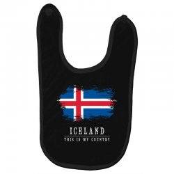 This is my country - Iceland Baby Bibs | Artistshot