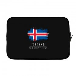 This is my country - Iceland Laptop sleeve | Artistshot