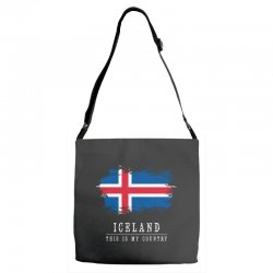 This is my country - Iceland Adjustable Strap Totes | Artistshot